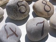 stone table numbers