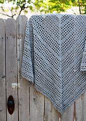 Ravelry: Morning Has Broken pattern by Kelly Surace, easy weekend shawl, free pattern