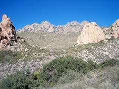 The Organ Mountains at Dripping Springs Las Cruces NM