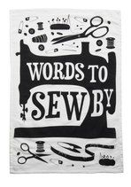 I have many words I use when sewing, not all of them would be appropriate to display.