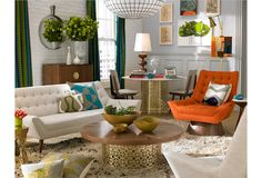 Weinstein PR announces Jonathan Adler Portland Store opening this weekend. I can't help but think of Hannah's parent's home, and smile.