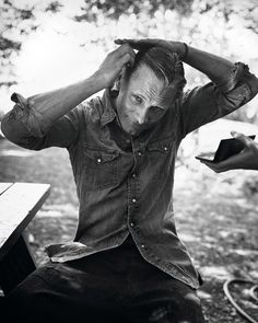 Viggo Mortensen, by Marc Hom (found on the site every day i show)