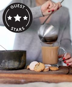 Chai Tea Ingredients: 4-6 cardamom pods, bruised 4-6 cloves 2 tbsp fresh ginger, chopped 4 tsp loose black tea (prepackaged tea bags are fine) 4-6 tsp raw honey 1/4 cup milk  Steps: 1. Add 4-6 cups of cold water to a deep saucepan, add cardamom, cloves, and ginger 2. Bring to a boil, reduce heat to low, then add black tea, raw honey, and milk 3. Simmer for five minutes, remove from heat, and let sit for five minutes 4. Serve with ladle and enjoy!