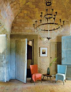 """<3 !!... Luis Sendino and Jacobo Valentí, from Barcelona, renovated a 18th century """"masía"""" (Spanish rural home)"""