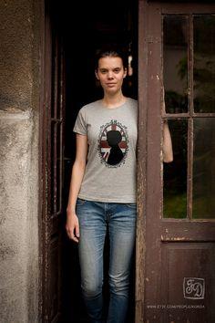 Sherlock Holmes BBC cameo t-shirt  , union jack