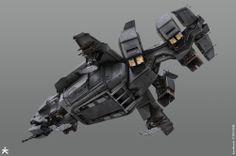 ISA Dropship - Killzone Shadow Fall