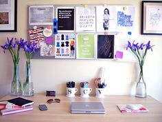 lovely desk/work space
