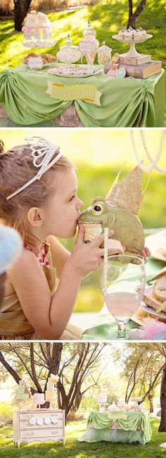 Frog Prince kids' party