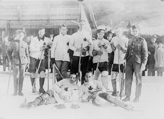 #Vintage #Canadian #hockey team photography. How great is this?