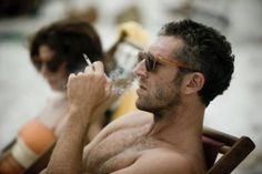 This French bastard! Vincent Cassel. #men #style