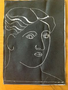 Picasso thread sketching tutorial | Sewn Up by TeresaDownUnder
