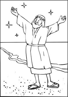Coloring Pages - Abraham