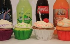 Soda Pop Cupcakes!!! Must Try!!