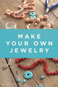 Come back from your road trip with home-made jewelry!