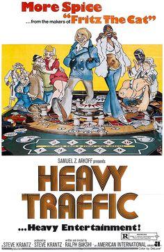 Heavy Traffic (1973) A Ralph Bakshi film
