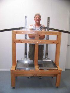 David Peterson dutch lever style cheese press