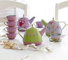 Stackable Tea Sets #PotteryBarnKids