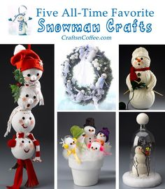 I can't choose just one -- these are all adorable snowmen!