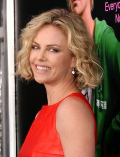 Charlize Therons sexy spiral curls