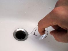 Unclogging the shower drain