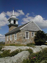 The chapel at Star Island, Isle of Shoals, NH - a treasured place during my adolescence.  Wikipedia, the free encyclopedia