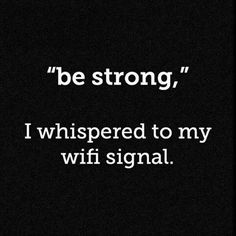 Oh yes--please be strong.