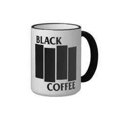 Black Flag/Black Coffee Mug