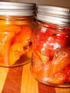 My Roasting Sweet Peppers Recipe.
