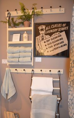 Laundry rooms on pinterest 32 pins for Pottery barn laundry room