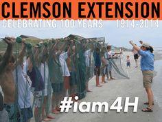 #Iam4H #ClemsonExt100