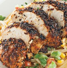 Big flavor and only 2 ingredients? It's true! Blackened Chicken is fabulous served on its own, but don't stop there. Chop and toss into a salad or slice and put on a sandwich.
