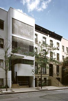 William Lescaze #House, New York in 1934++ #architecture