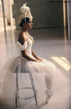 Darcey Bussell by Arthur Elgort