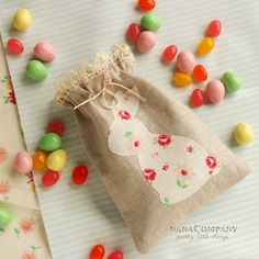 Easter Bunny Candy Bag <3