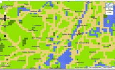 Google Earth for NES. Love it