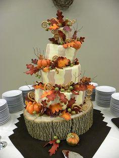 cupcak idea, autumn, pumpkin, fall cakes, cake decor, fallthem cake, harvest cake, decor cake, decor idea