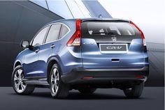 2013 Honda CRV Rear View. Our new car!