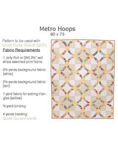 Metro Hoops Quilt Pattern