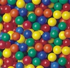 "Pack of 300 pcs Crush-Proof non-PVC Plastic Ball Pit Balls in 5 Colors - Phthalate Free 3.1"" Air-Filled - Guaranteed Crush-Proof by CMS Exclusive. $52.95. These balls were designed & manufactured for the average family with a few kids in mind. These balls were suitable for any home use by kids over 1 year old, because these balls were soft enough, and yet durable and safe enough to meet the less demanding home environment. Each balls was tested to withstand over 75 pounds of we..."