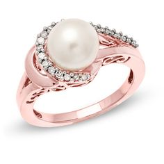 Rose Gold with a pretty pearl #InspiredByElle