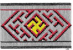 Brocaded tablet weaving from Hvilehøj