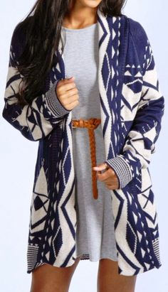 Adorable Aztec Cardigan Fashion Style