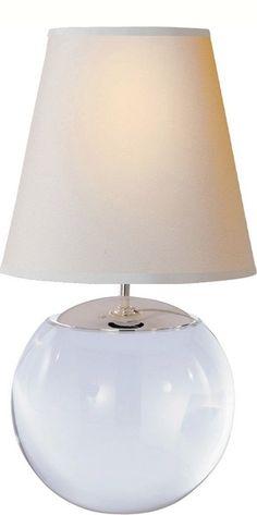 Visual Comfort Terri Round Table Lamp | Table Lamp