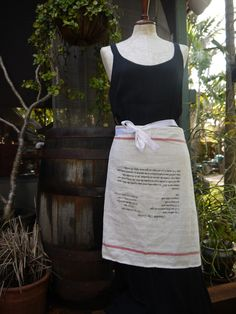 Personalized custom recipe aprons. $25.00, via Etsy.