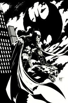 Batman by Ken Hunt
