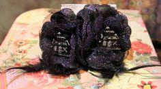Haunted House Rockabilly Flower Set Kawaii Hair by FilthyCoffin, $7.00