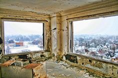 7th floor of the Lee Plaza Hotel - Detroit, MI