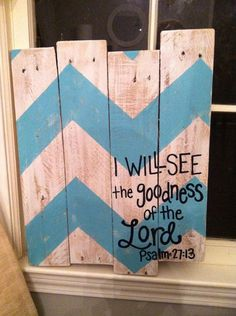 Wood Pallet Art Chevron Every little thing is by HollysHobbiesTN
