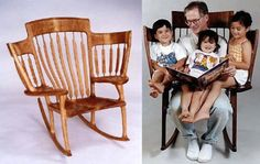 Chair idea for grand parents :)