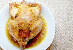 """Receta de Pollo asado en bolsa de """"asar"""" con Thermomix"""